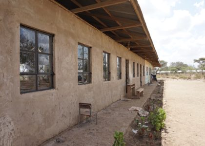 Songambele Primary School now has windows