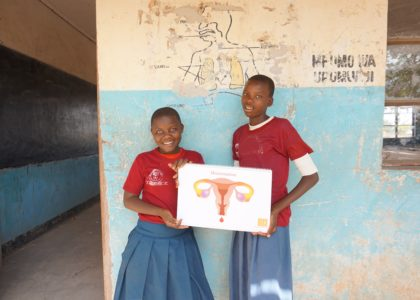 Primary schools receive training on menstruation and sanitation