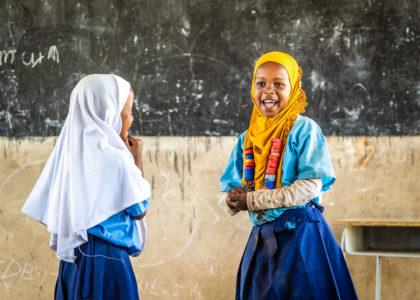 67% av flickorna i årskurs 4-7 får ingen undervisning om mens i skolan.